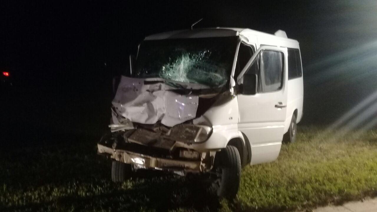 Accidente en el Km 436 de Autopista Rosario Córdoba