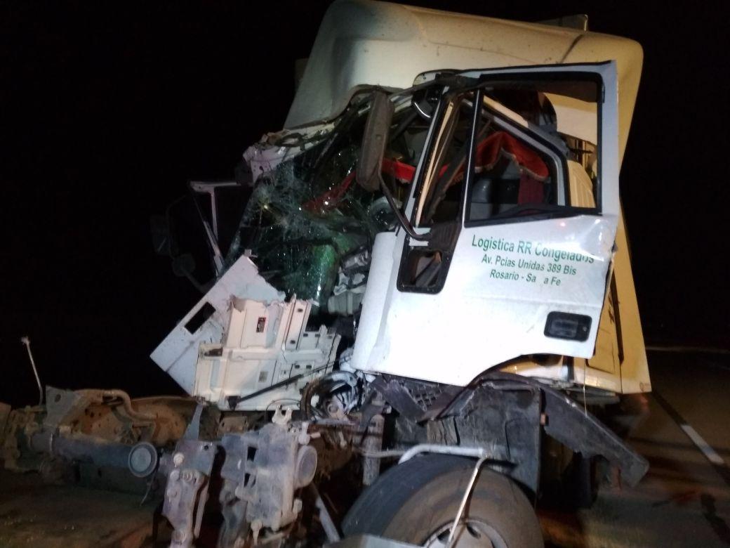 Otro accidente más en Autopista Córdoba Rosario