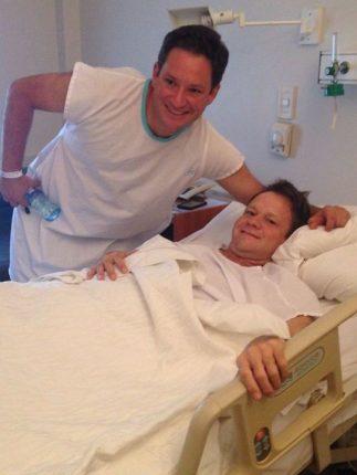 La historia de los hermanos y un trasplante de riñón