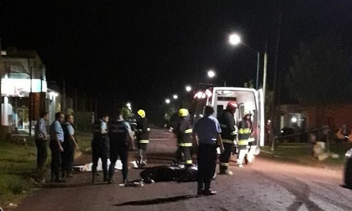 Accidente en moto pierde la vida joven de 19 años
