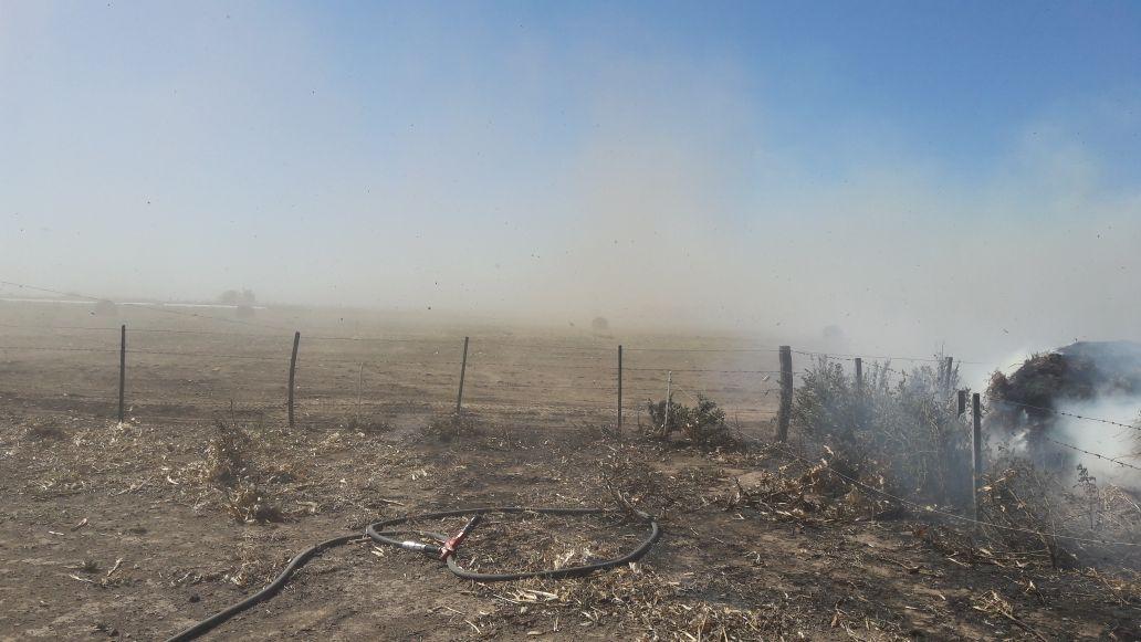 Incendio de campo entre Leones y Msjz