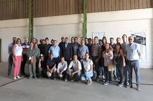 Comunidad Regional visitó la Planta de Tratamiento Calamuchita