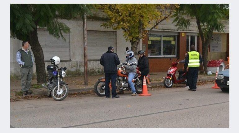Tránsito: Marcosjuarenses infractores