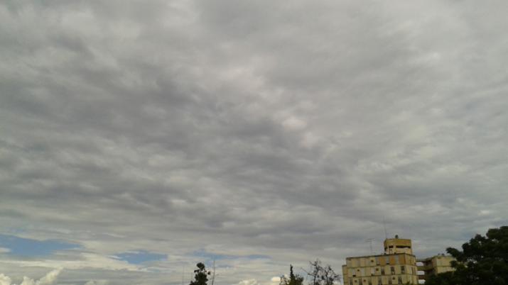 Inestable probabilidad de lluvias