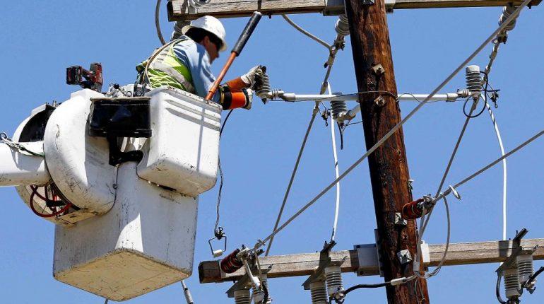 Energía eléctrica restricción del servicio