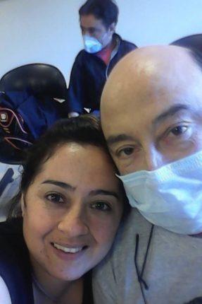 Vanesa Herrera donante de riñón a su padre con diabetes