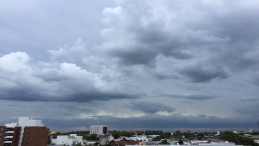 Mal tiempo con lluvias y tormentas