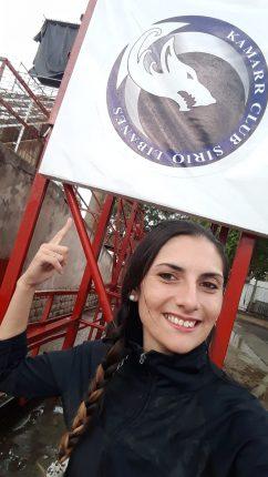 Nadia Cejas bailó en el Carnaval de Gualeguachú