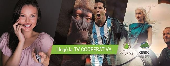 TV de Coyspu ya cuenta con 2000 suscriptos