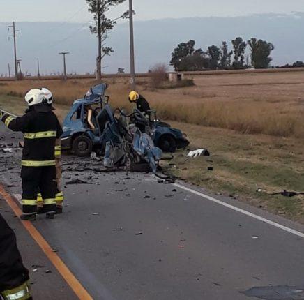 Varios muertos en accidente sobre ruta 12