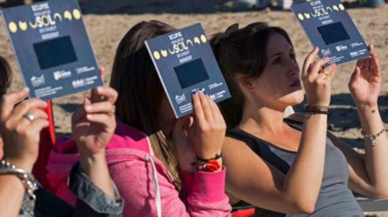 Recomendaciones para observar el eclipse solar en forma segura