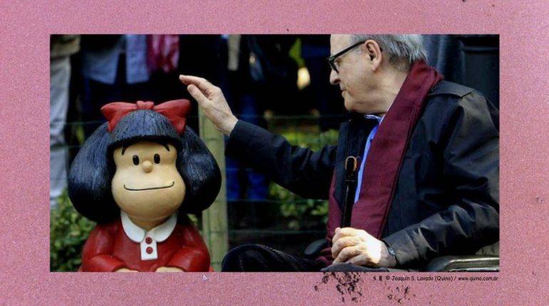 Quino, el creador de Mafalda, cumple 87 años