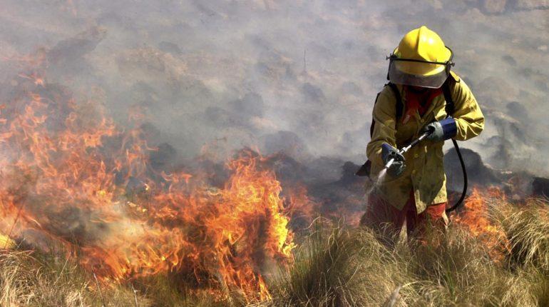 Se mantiene muy alto el riesgo de incendios en Córdoba
