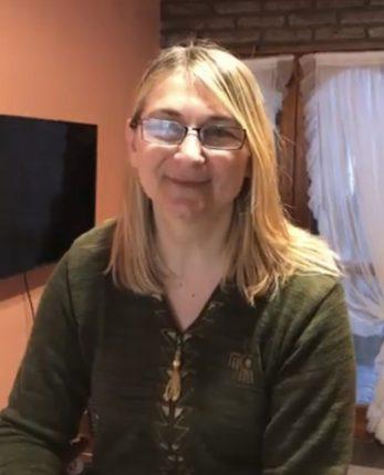 Marisel Cosci docente destacada de la Provincia