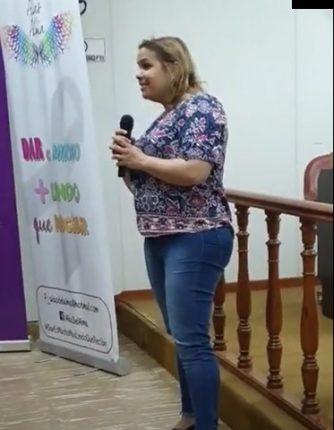 """Lorena Badariotti: """"Ese día 19 de Octubre apareció la mano de Dios"""""""