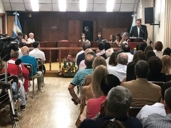 Int Dellarossa abrió el período de sesiones ordinarias 2020