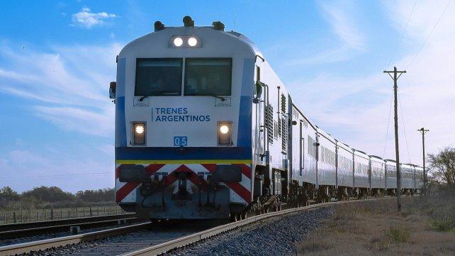 Qué estuvo pasando con el tren de pasajeros?
