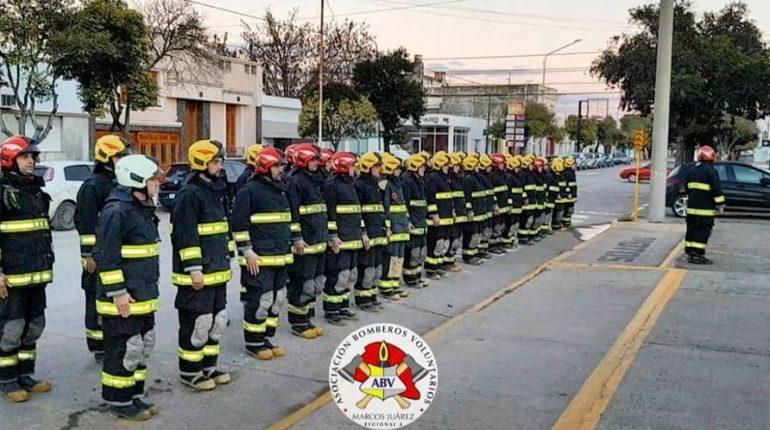 2 de Junio Día Nacional del Bombero Voluntario