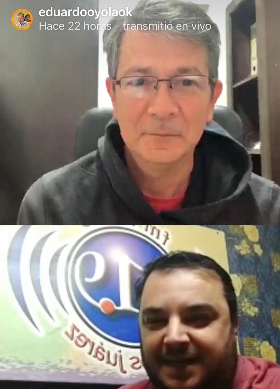 Una charla con un colega: Eduardo Belen de Radio MsJz