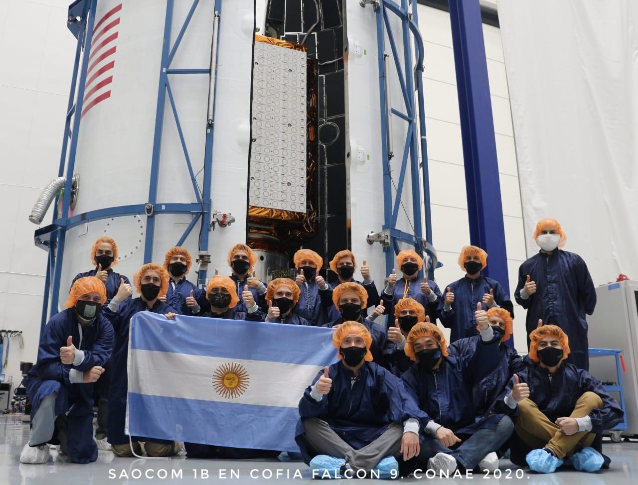 """El Saocom 1B """"se lanza desde Cabo Cañaveral, Estados Unidos"""