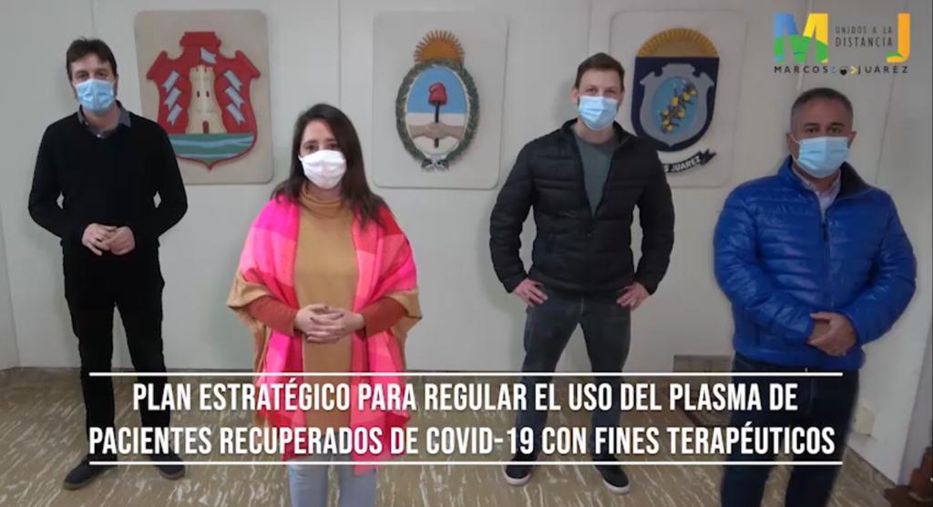 .Campaña para ser donante de plasma de aquellos pacientes recuperados de Coronavirus.
