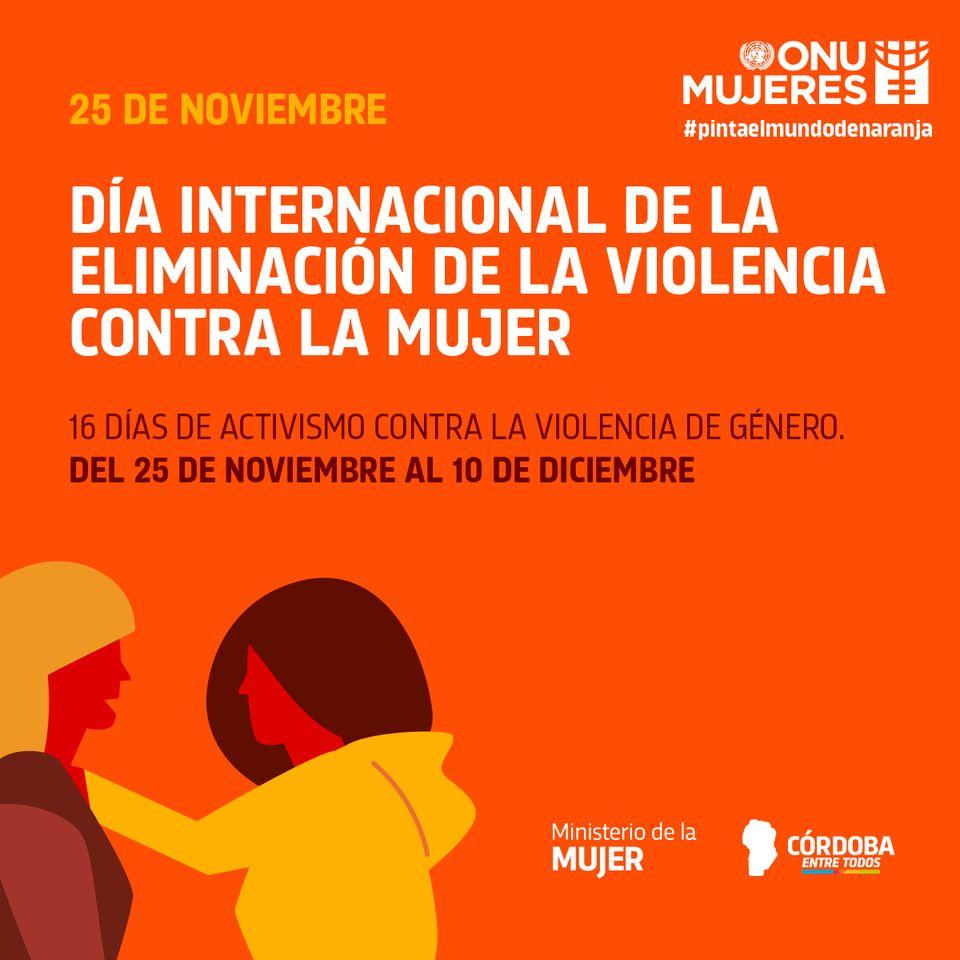 Comienzan 16 días de activismo contra la violencia de género