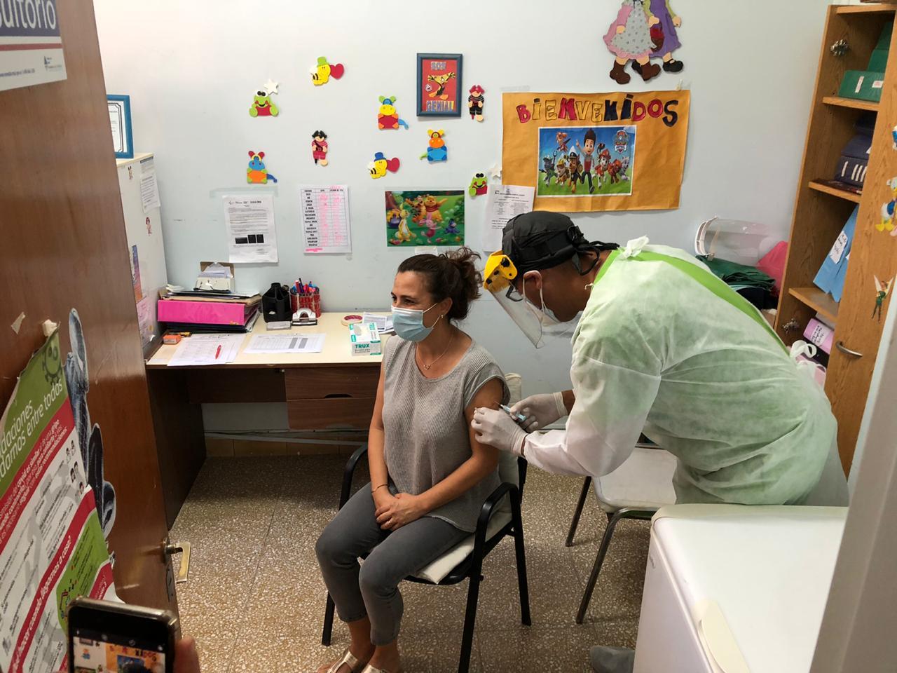 Comenzó la vacunación con la Sputnik V en Marcos Juárez